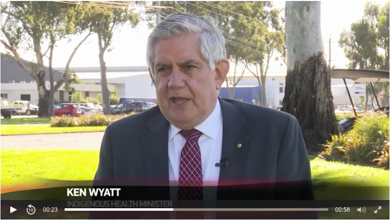 Minister Ken Wyatt discusses the importance of Aboriginal Health TV